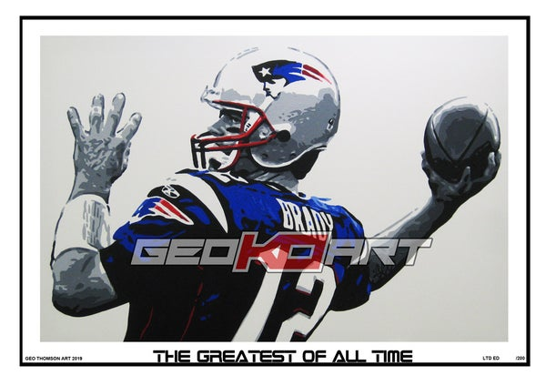 Image of TOM BRADY - NEW ENGLAND PATRIOTS