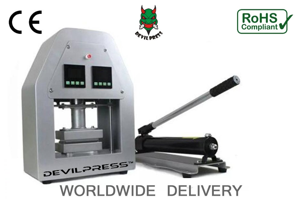 Image of DEVIL PRESS™ DP450M  20 TON MANUAL ROSIN PRESS™ MACHINE
