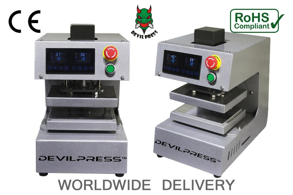 Image of DEVILPRESS™ DP250S+ 10 Ton  ELECTRIC ROSIN PRESS