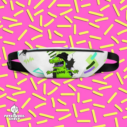 Image of Dino Gang All Over Print Fanny Pack