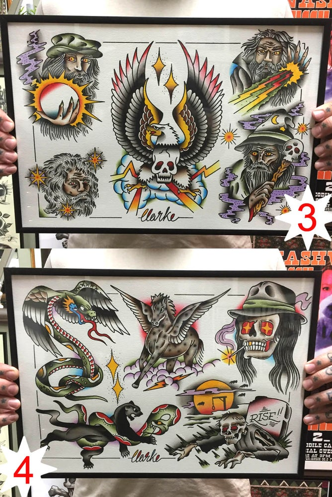 Image of Original Paintings ~ size A3 (b)