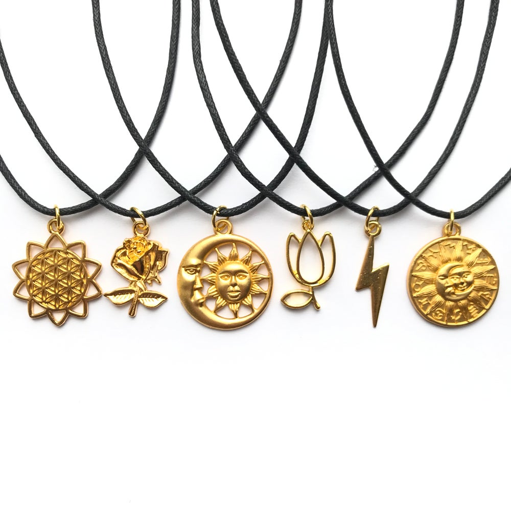 Image of GOLD CHOKERS