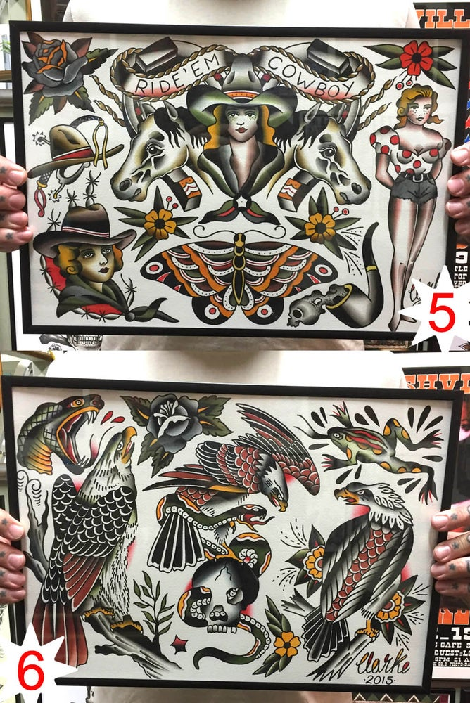 Image of Original Paintings ~ size A3 (c)