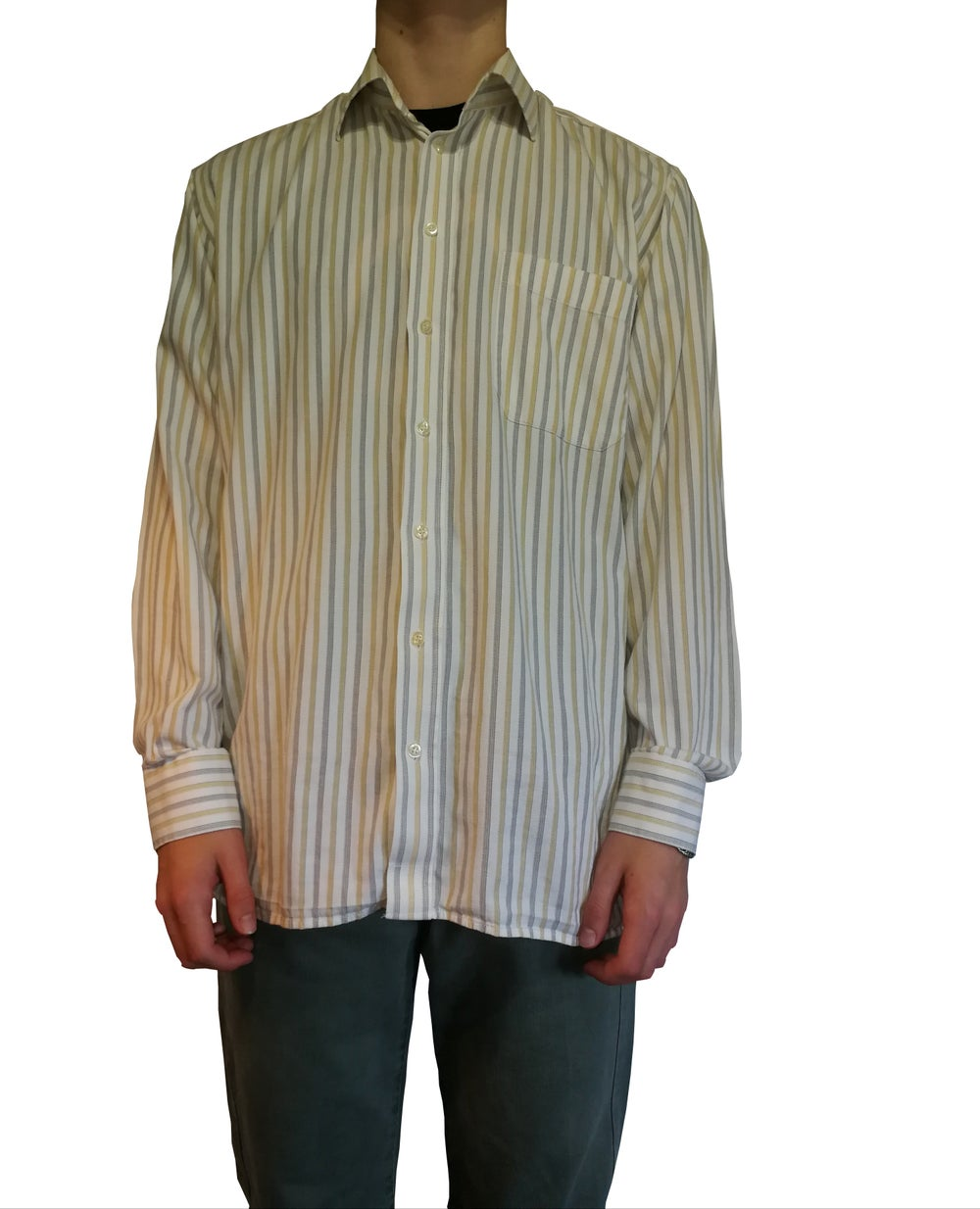 Image of Long sleeve striped shirt