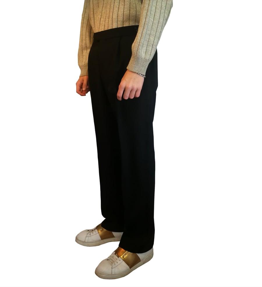 Image of Side stripe pants