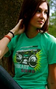 Image of Boombox American Apparel T-shirt