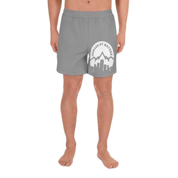 "Image of ""DBN"" Men's Athletic Shorts - GREY"