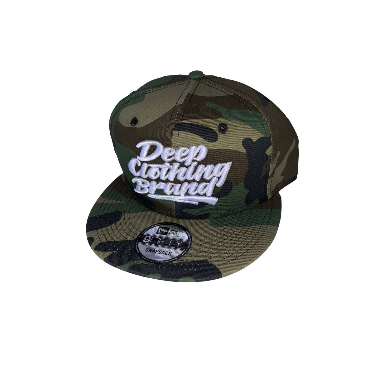 Image of Deep Clothing Brand Logo - New Era Snap Back - Click for inventory