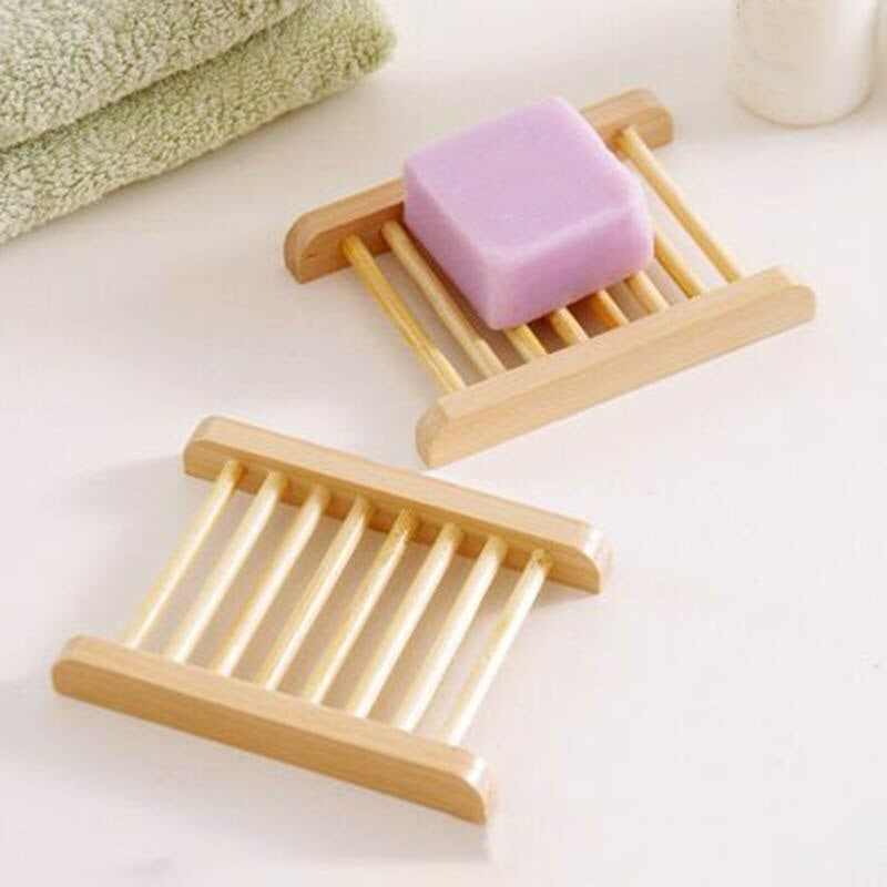 Image of Natural Wooden Soap Dish