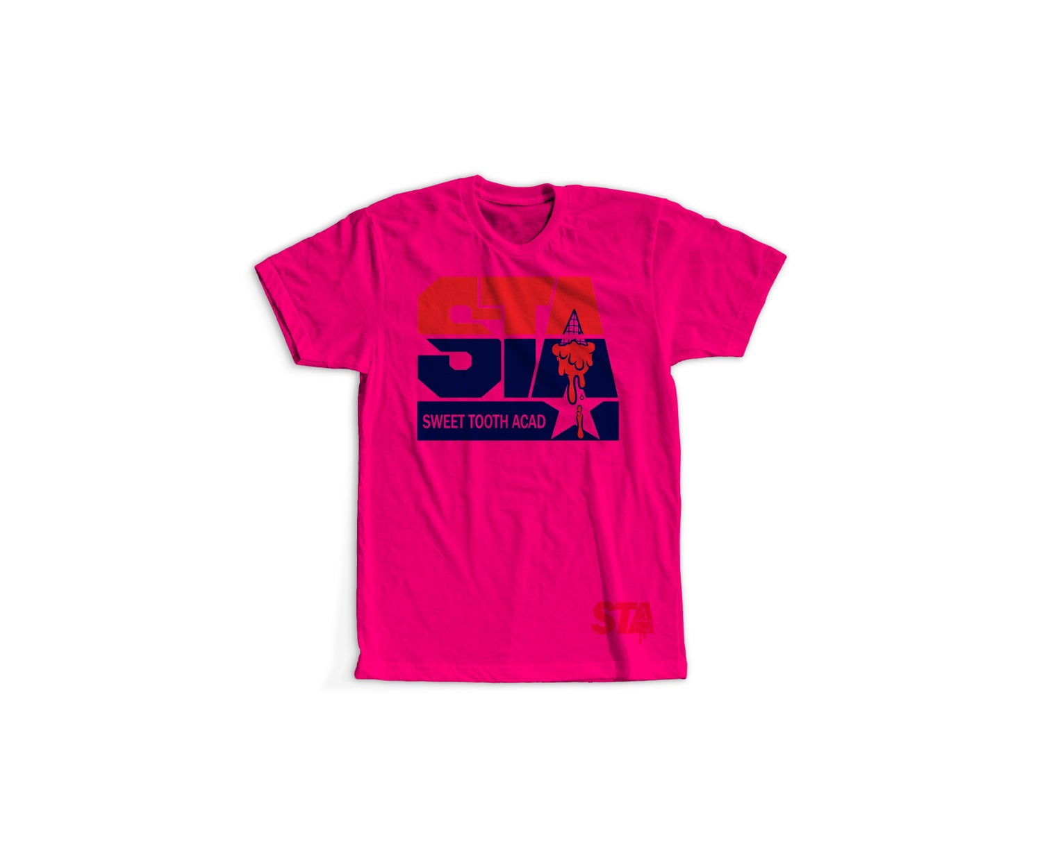Image of Ice Cream Team Tee Pink