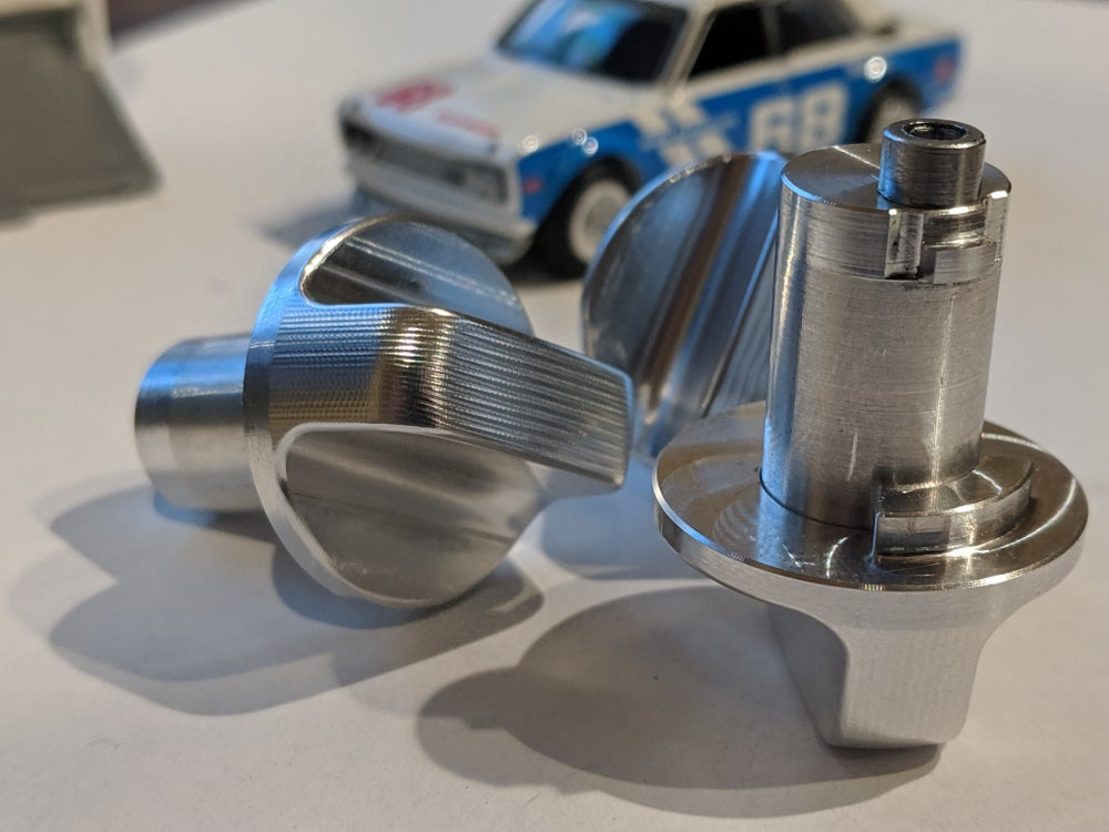 Image of CNC Machined Glove Box knob assembly