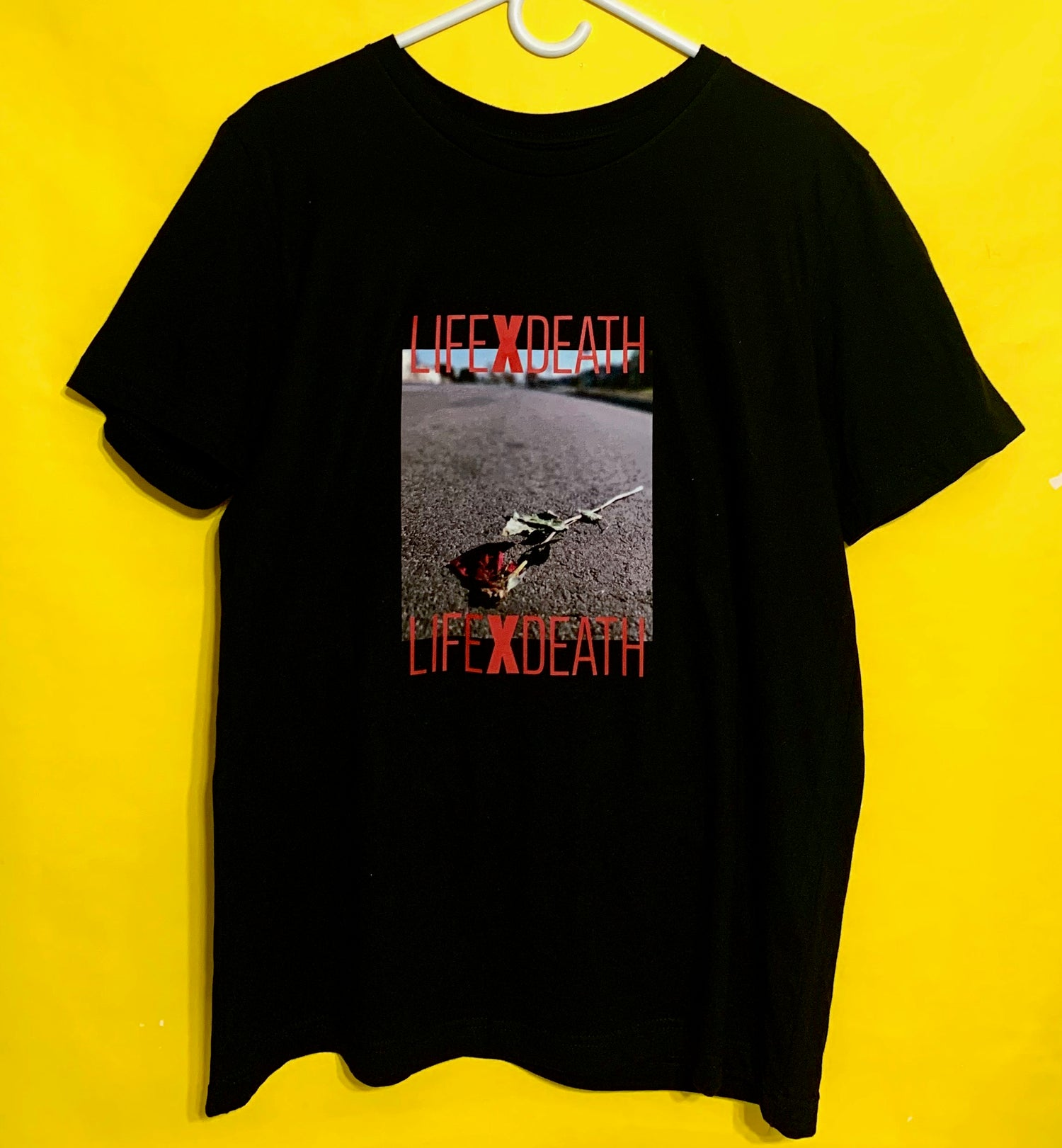 Image of Life x Death Flower T shirt