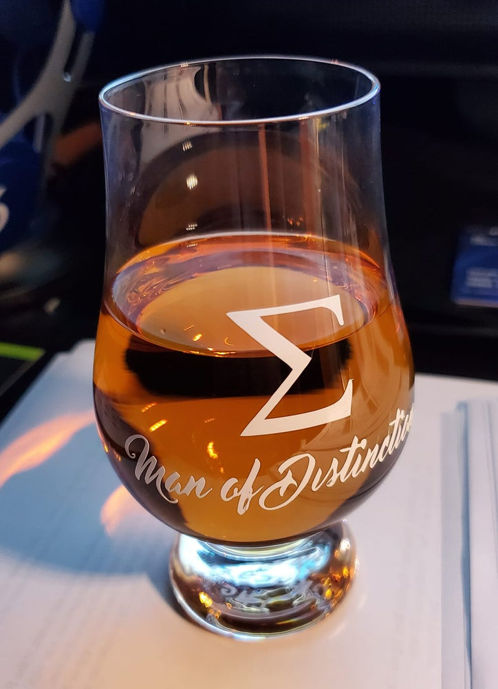 Image of Sigma Man of Distinction - Glencairn Whisky Glass