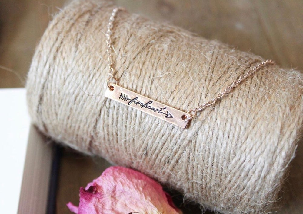 Image of Add on: Fireheart Necklace
