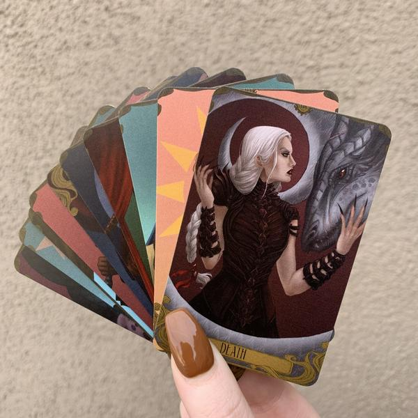 Image of Add on: Throne Of Glass Tarot Cards