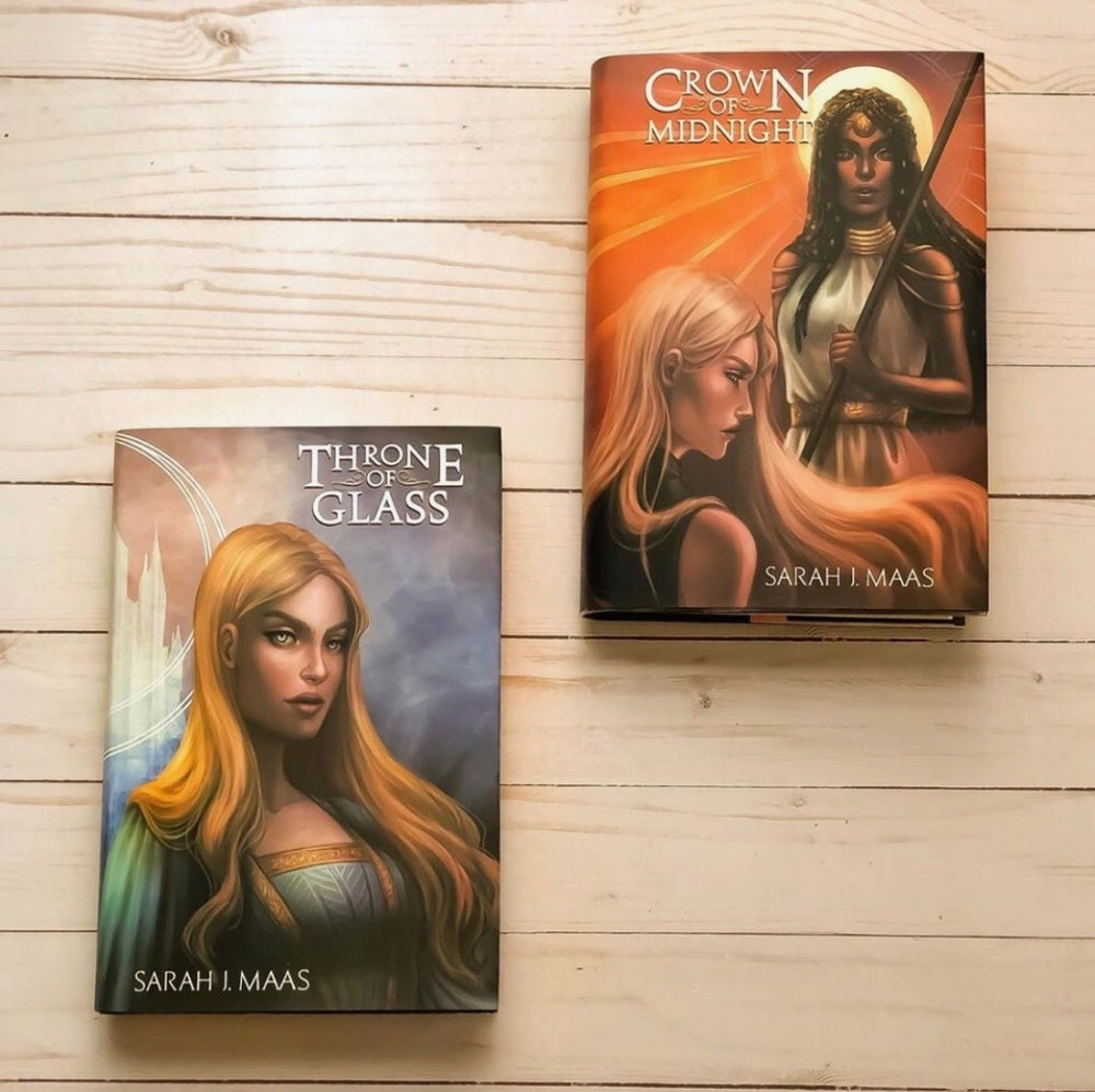 Image of Add on: Throne Of Glass Dust Jacket Set
