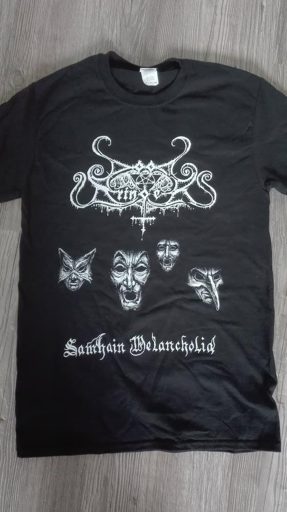 Image of DOOMBRINGER - 'Samhain Melancholia' men's t-shirt