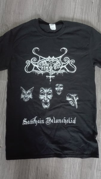 Image of DOOMBRINGER - 'Samhain Melancholia' men's t-shirt