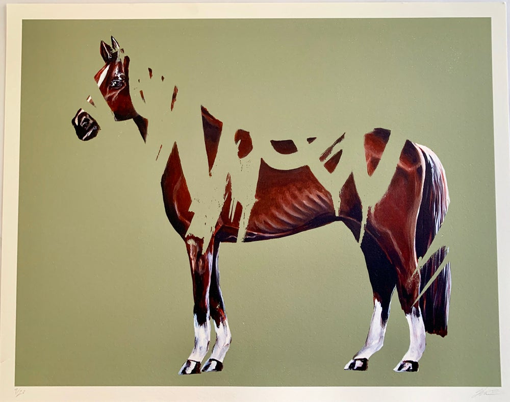 Image of The Klotter Horse Edition Print II