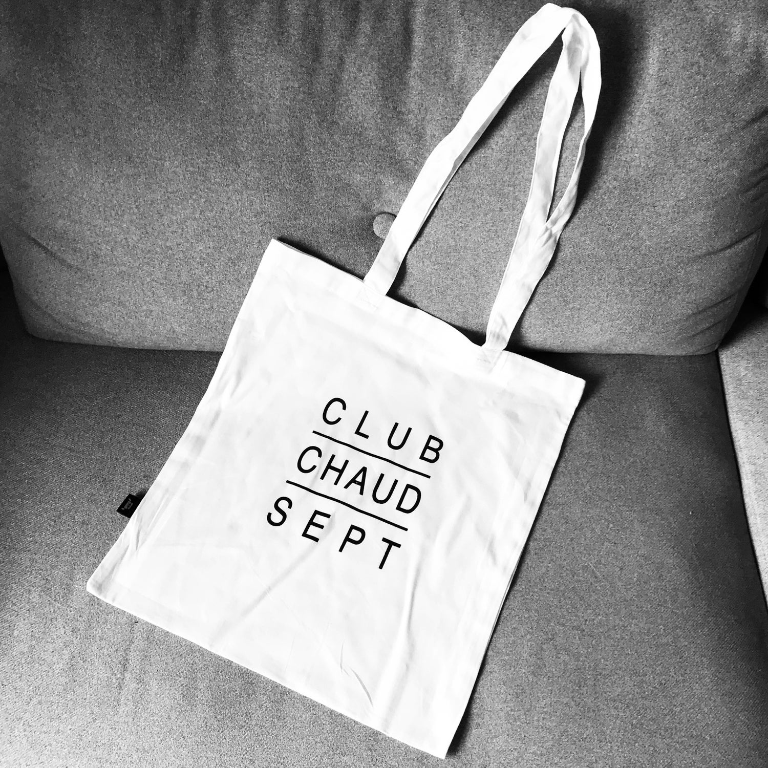 Image of Tasche CLUB CHAUD SEPT weiss