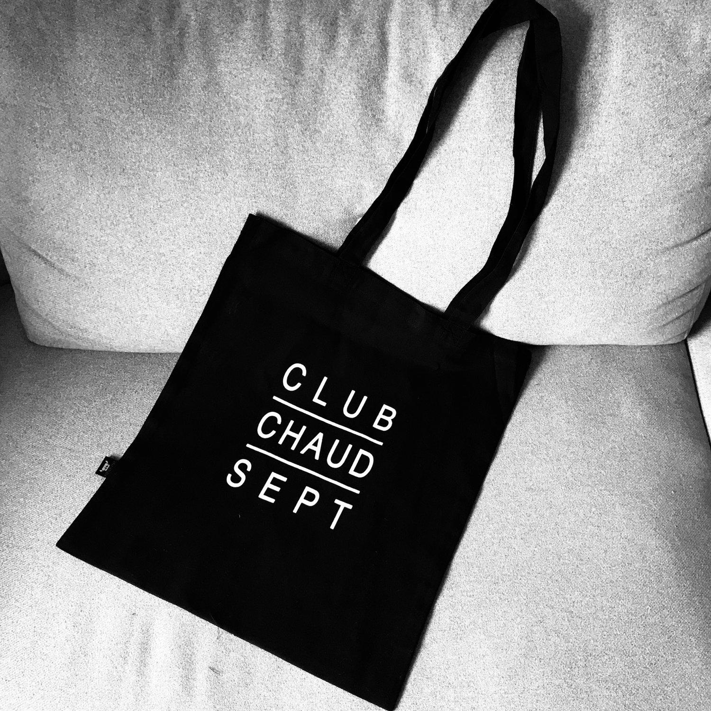Tasche CLUB CHAUD SEPT schwarz