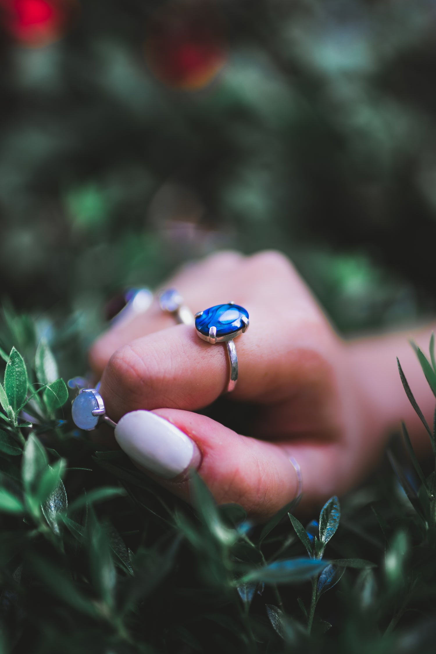 Image of FIRENZA Blue Paua ring