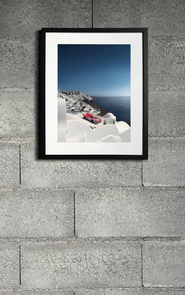 Image of Porsche 917 Santorini Print 2