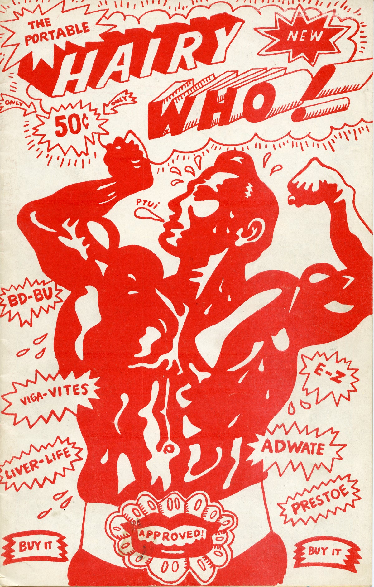Image of Art Green, front cover for The Portable Hairy Who!, 1966