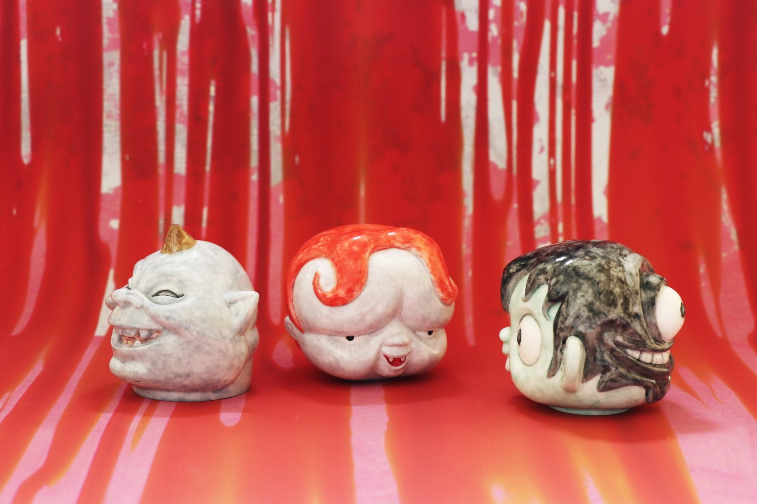 Image of HIDESHI HINO MAMUSHINBO 'HEAD SERIES' PRE-ORDER