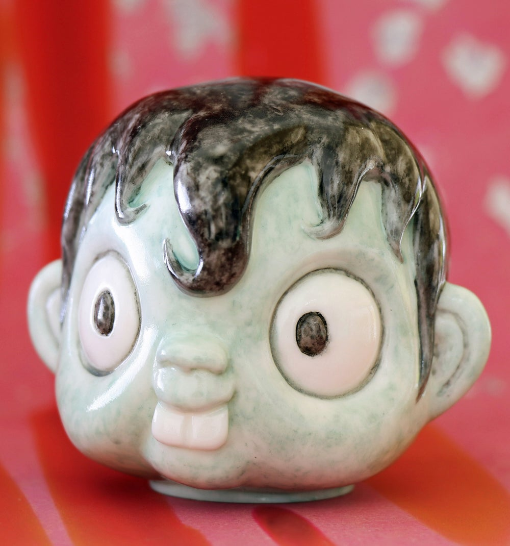 Image of IDESHI HINO MAZUEMON 'HEAD SERIES' PRE-ORDER