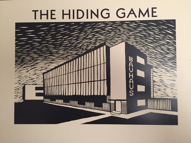 Image of The Hiding Game: Limited Edition Relief Print by Nick Hayes