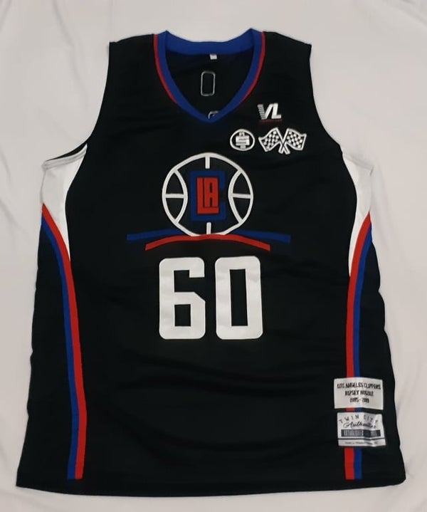 "Image of Nipsey Hussle Clippers ""Rolling 60s"" bball Custom"