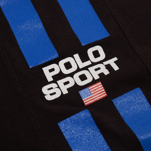 Image of Polo Sport Ralph Lauren Vintage Black T-Shirt Size XL