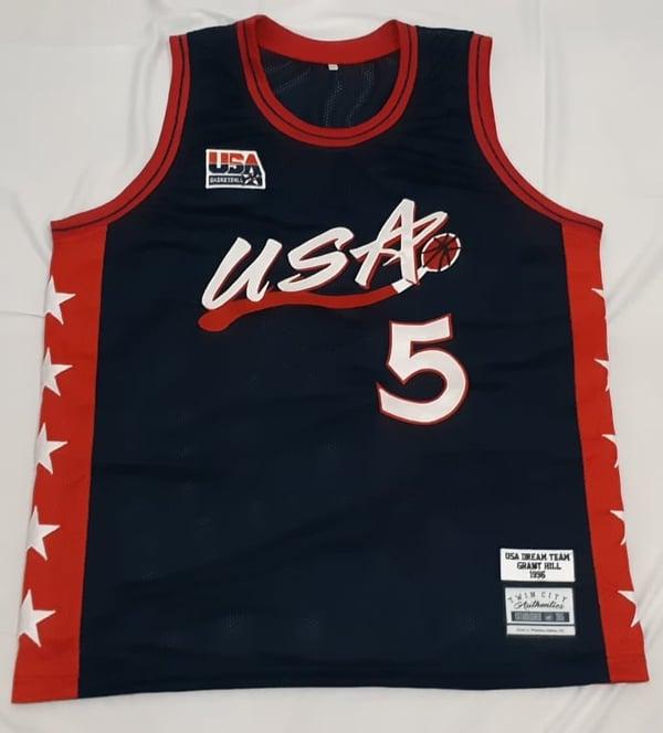 Image of Grant Hill USA custom 1995-1996