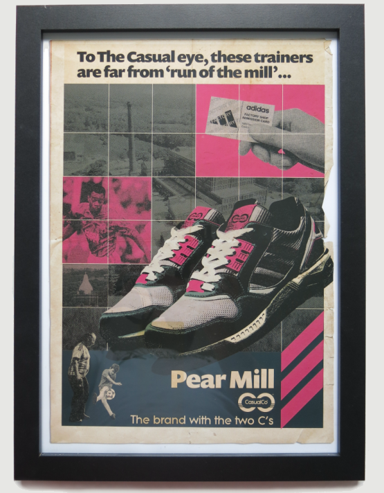 Image of 'ADIDAS PEAR MILL' PRINT