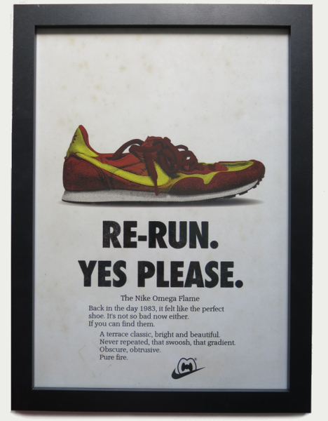 Image of 'OMEGA RE-RUN' PRINT