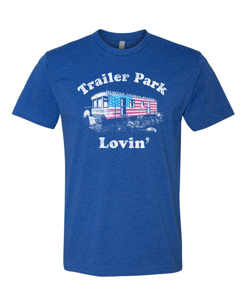 Image of Trailer Park Lovin' Tee (Blue)