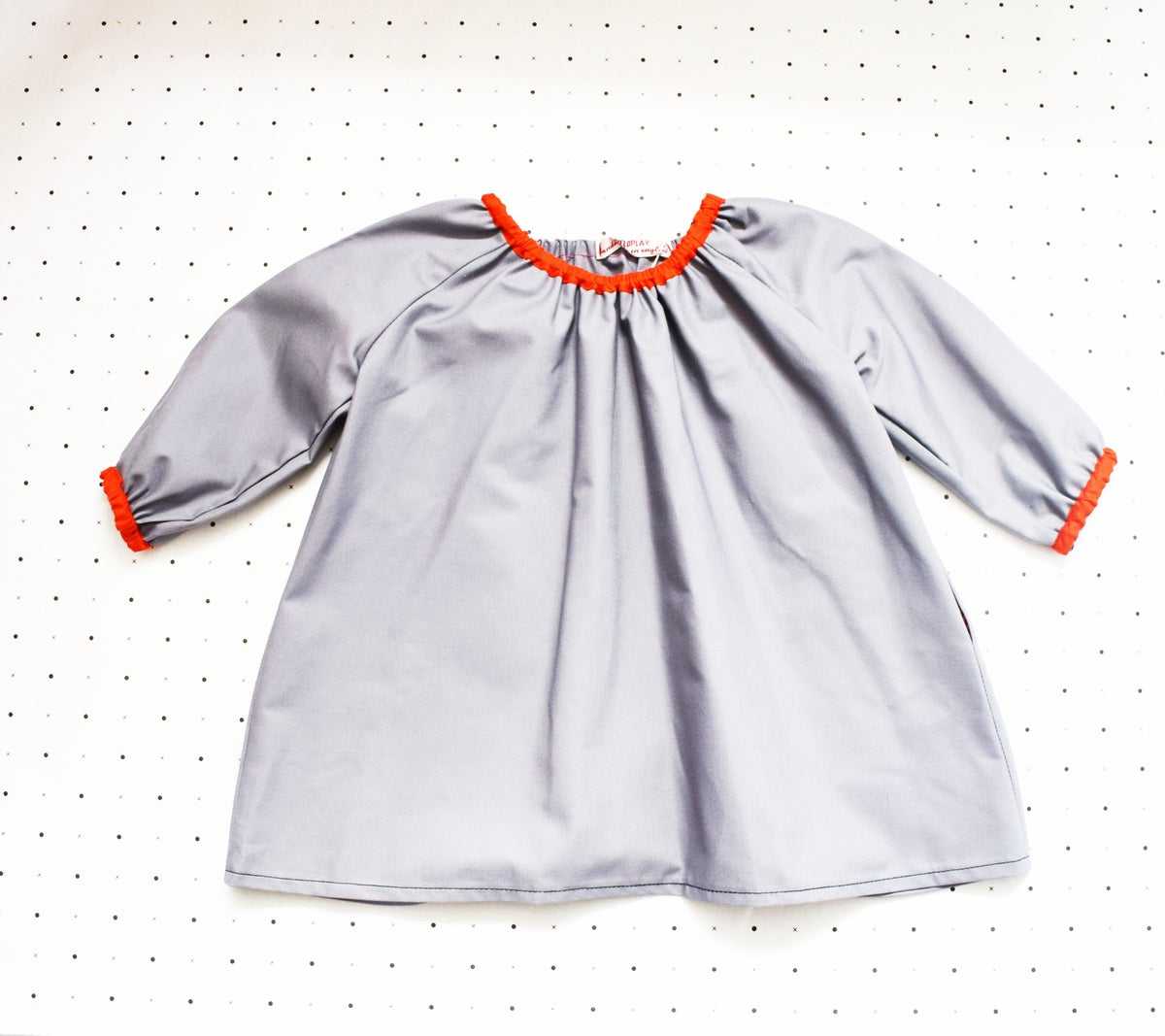 Image of Gathered Cotton Smock