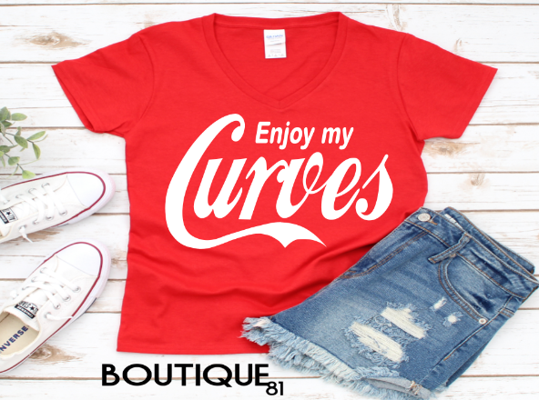 Enjoy My Curves Tee Boutique 81