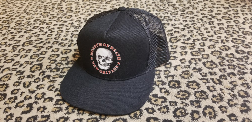 Image of M.O.D. New Orleans Logo Trucker style hat