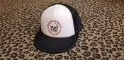 Image of M.O.D New Orleans Logo Black & White Trucker Hat