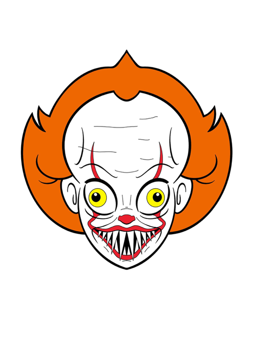 Image of The Dancing Clown (Variant) by Brucey