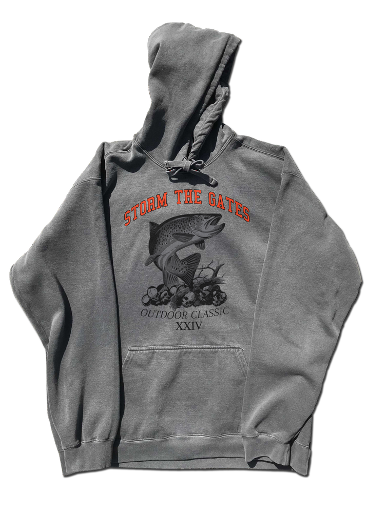 Image of TROUT HOODED SWEATSHIRT