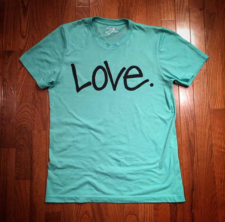 "Image of Mint ""Love...period!"" Tee"