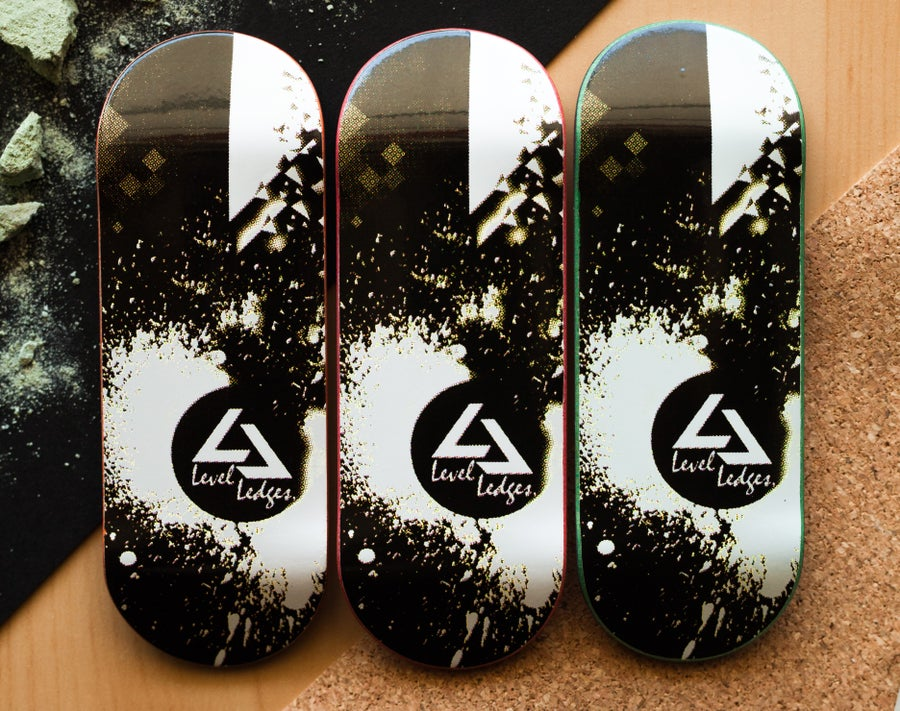 "Image of ""Shatter"" Graphic Deck 33mm + FREE ""Pole Jam"""