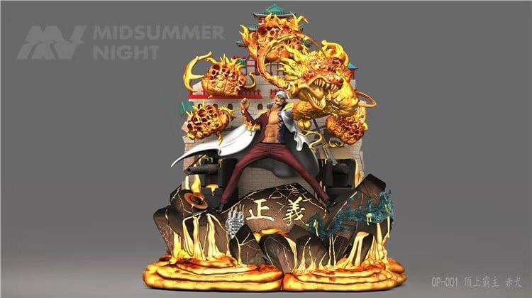 Image of [pre-order]one Piece midsummer night studio akainu Resin Statue