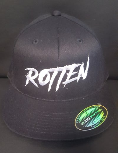 Image of HEX-RATED: Rotten Embroidered Rotten / Snapback Hat