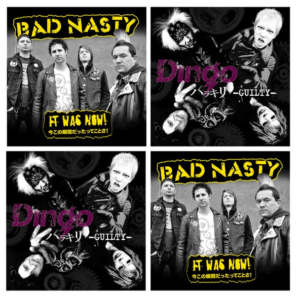 "Image of Dingo / Bad Nasty « Split ep 7"" »"