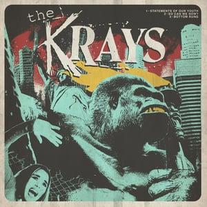 "Image of The Krays / Bad Nasty «Split Lp 12""»"
