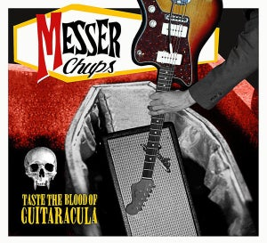 Image of CD. Messer Chups : Taste The Blood Of Guitaracula.  Ltd Edition CD.
